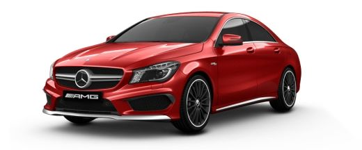 Mercedes Benz CLA Class Pictures