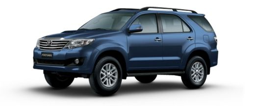 New Toyota Fortuner Pictures