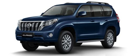 Toyota Land Cruiser Prado Pictures