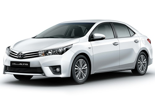 new toyota corolla altis vs old the differences. Black Bedroom Furniture Sets. Home Design Ideas
