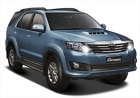 Toyota Fortuner 4x2 MT FY Front Cross Side View Pictures