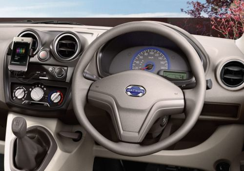 datsun go mpv unveiled pictures inside. Black Bedroom Furniture Sets. Home Design Ideas