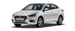 Hyundai 4S Fluidic Verna Tyres