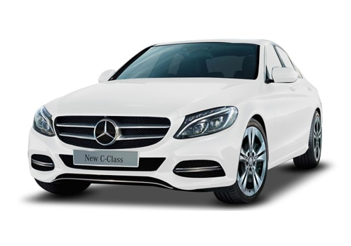 Mercedes benz c class price check january offers images for White mercedes benz truck