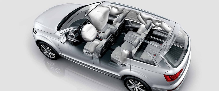 Does Audi Q7 have safety airbags? | CarDekho.com